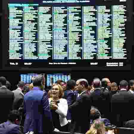 Plenário da Câmara dos Deputados, em Brasília - Marcos Oliveira/Agência Senado