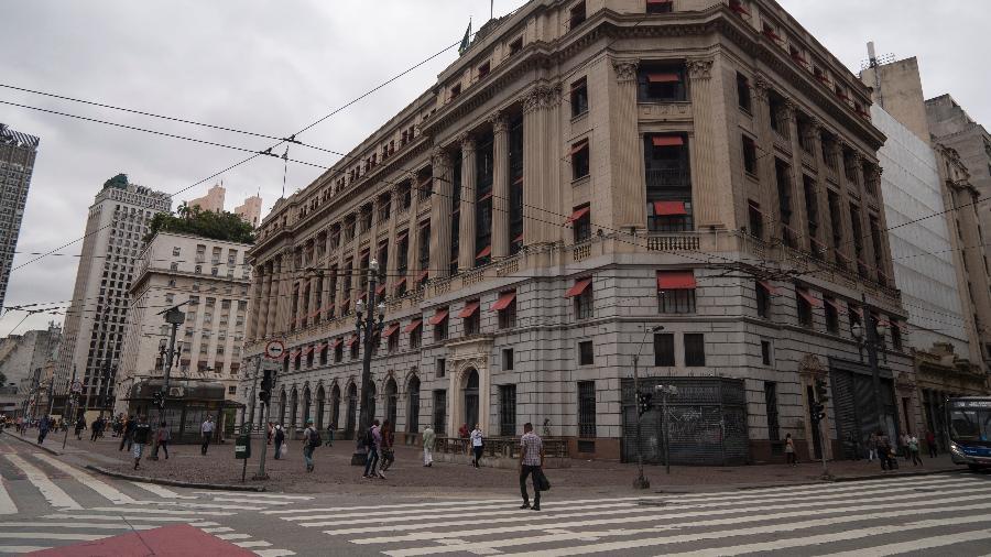 Movimento no centro de São Paulo durante a pandemia de coronavírus - Andre Porto/UOL