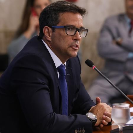 Arquivo - Campos Neto disse que o Brasil enfrenta alta no preço dos alimentos por questões como valor de commodities e pressão cambial. - José Dias/Presidência da República