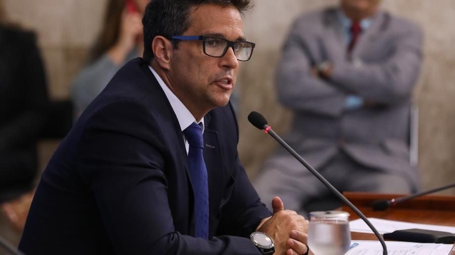 O presidente do Banco Central, Roberto Campos Neto, Roberto Campos Neto, defendeu que gastos relacionados à pandemia de covid-19 são justificado - José Dias/Presidência da República