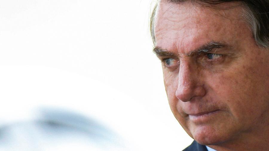 O presidente Jair Bolsonaro no Palácio da Alvorada, em Brasília - ADRIANO MACHADO