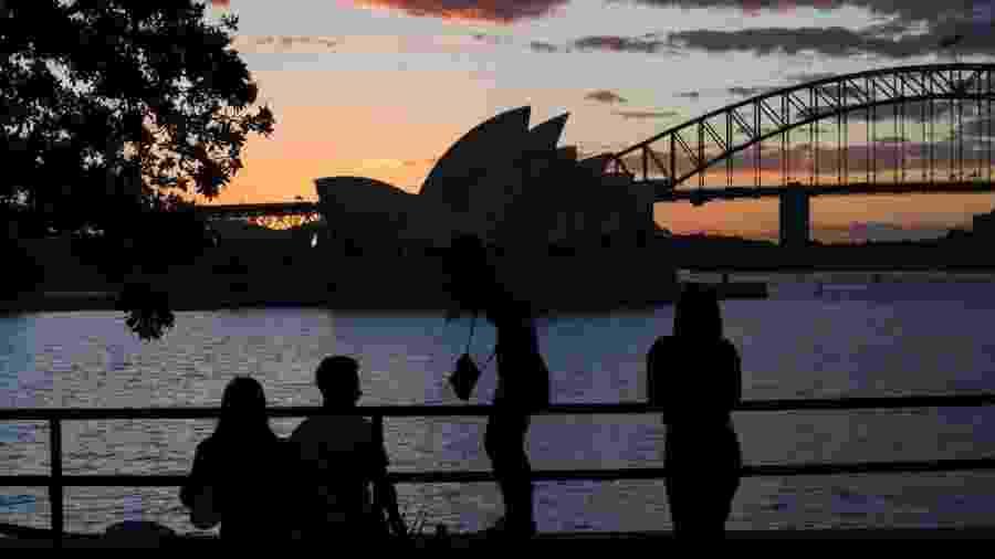 Sydney, na Austrália no início da flexibilização da quarentena - James D. Morgan/Getty Images