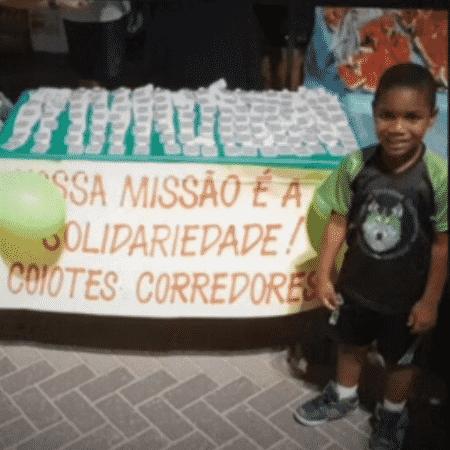 Miguel Otávio Santana da Silva, de cinco anos, morreu ao cair do 9º andar de um prédio em Recife - Reprodução / TV Globo