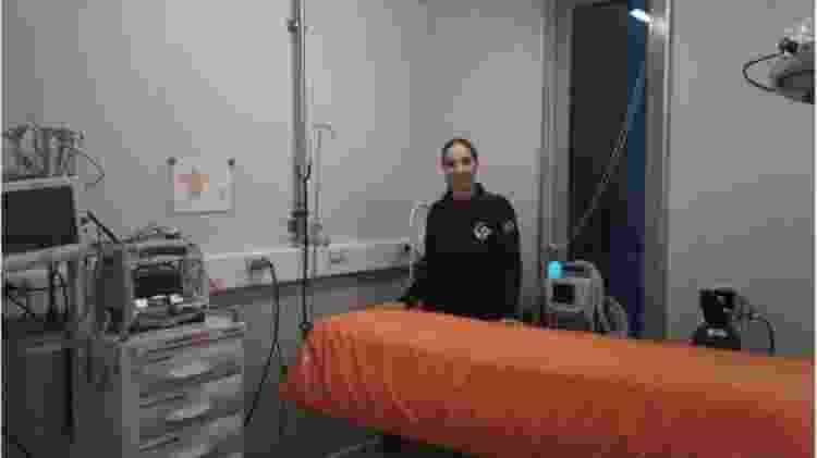 Letizia Aurilio Matos é a médica da estação - Marinha do Brasil - Marinha do Brasil