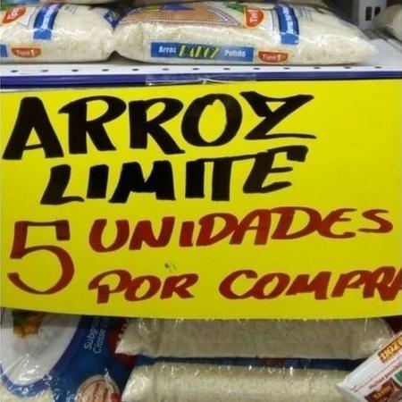 Supermercado de Sumaré limita compra de arroz por cliente - Arquivo pessoal