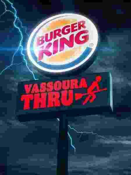 #VassouraThru: BK dará lanche no Halloween - Divulgação