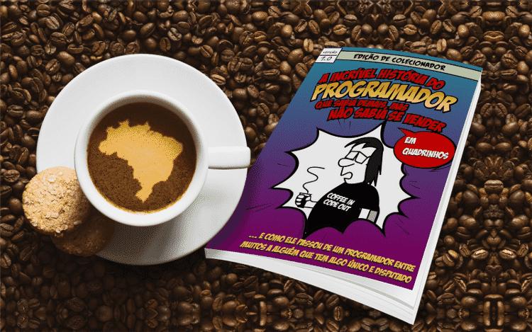 e-book A incrível história do Programador que sabia demais, mas não sabia se vender - em quadrinhos - Vida de Programador/Andre Noel - Vida de Programador/Andre Noel