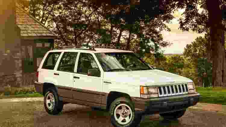 Jeep Cherokee (geração ZJ) - Divulgação  - Divulgação