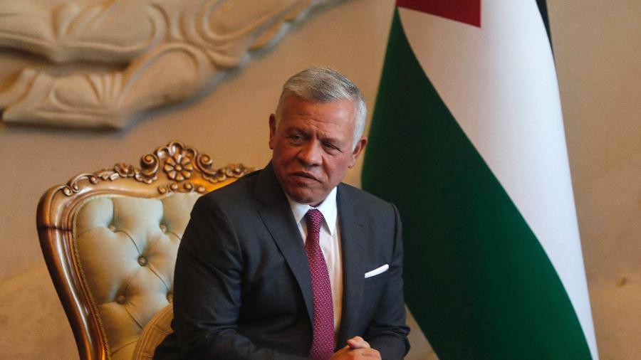 27.jun.2021 - O rei da Jordânia  Abdullah 2º foi citado nos Pandora Papers - Ahmad Al-Rubaye/AFP