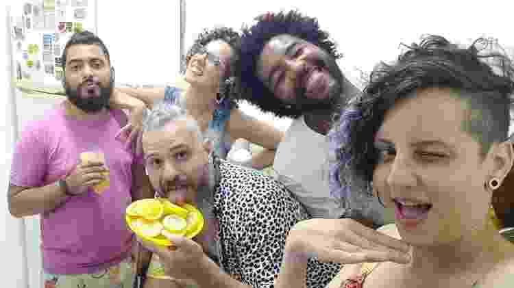 Gustavo, Juliana, Thiago, Kevem e Maíra - Arquivo Pessoal - Arquivo Pessoal
