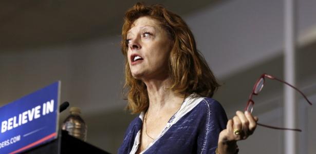 Susan Sarandon apoia Sanders e alerta para novos problemas nas votações das primárias - Dominick Reuter/Reuters