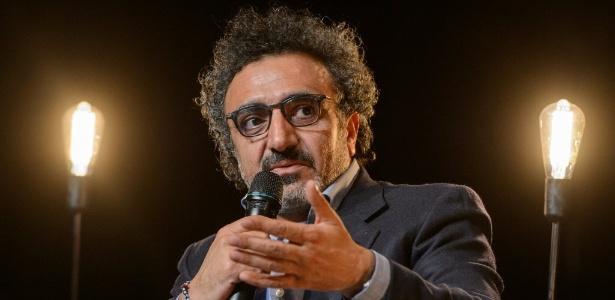 O bilionário e fundador da fabricante de iogurtes Chobani, Hamdi Ulukaya - Raigo Pajula/AFP Photo