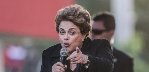 A presidente afastada, Dilma Rousseff