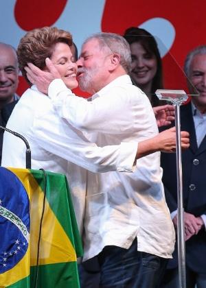 A presidente afastada Dilma Rousseff e o ex-presidente Luiz Inácio Lula da Silva - Sérgio Lima/Folhapress