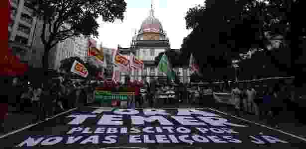 Protestos RJ - Fábio Motta/Estadão Conteúdo - Fábio Motta/Estadão Conteúdo