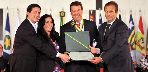 Ex-diretor chegou a ser condecorado com uma medalha do Mérito Legislativo em 2012