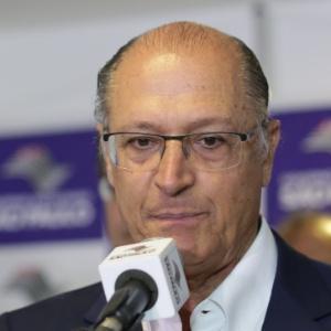 29.dez.2016 - O governador de São Paulo, Geraldo Alckmin (PSDB)