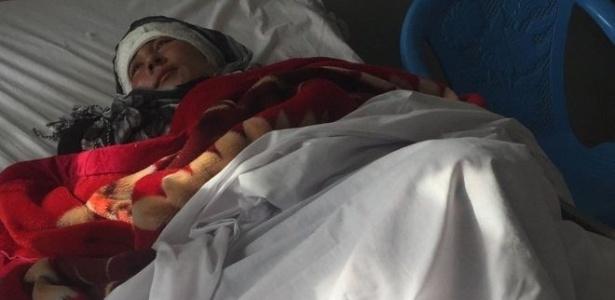 Zarina, afegã de 23 anos, é mais recente vítima de violência doméstica em seu país