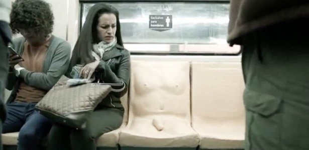 Campanha busca combater o assédio sexual a mulheres no metrô da Cidade do México