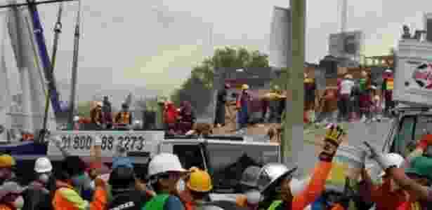 Dezenas de pessoas morreram após desmoronamento de fábrica têxtil - BBC/Alberto Nájar - BBC/Alberto Nájar