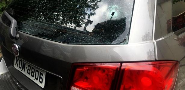 Maria Esperanza foi morta com um tiro no pescoço quando descia a favela, após o passeio turístico - Hanrrikson de Andrade/UOL