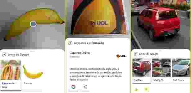 Google lens funcionando no Zenfone 5 - Reprodução