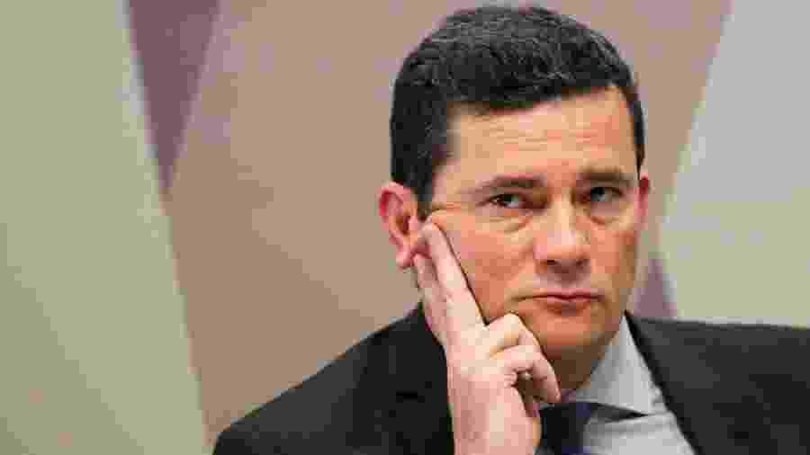 PF investiga suspeitos de terem invadido celular de Sergio Moro (foto) - REUTERS/Adriano Machado