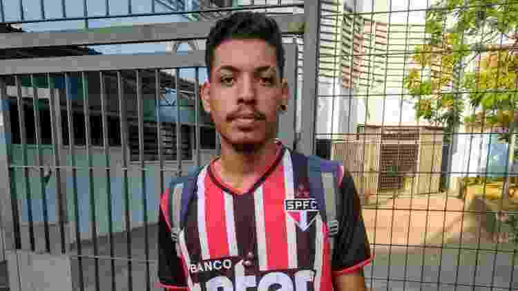 luiz matheus enem - Cleber Souza/UOL - Cleber Souza/UOL