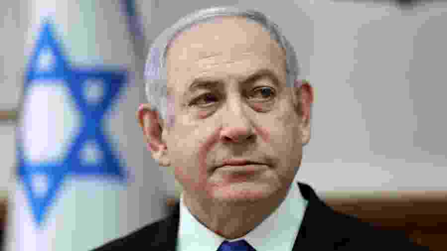 Benjamin Netanyahu - Abir Sultan/Pool via REUTERS