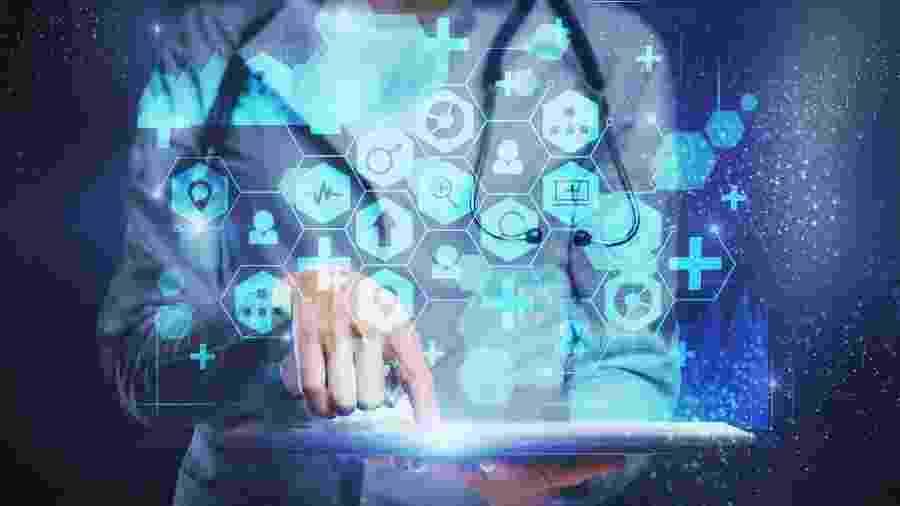 Saúde tem se modernizado com auxílio de aplicativos - Getty Images/iStockphoto