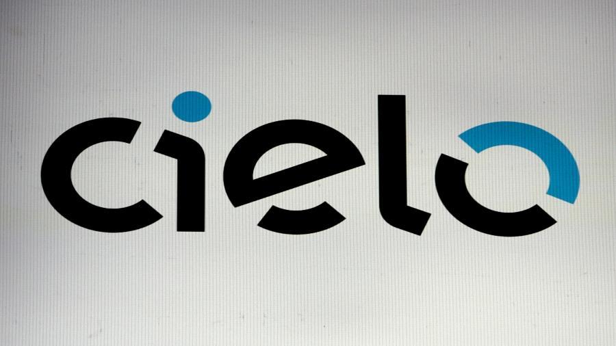 Logo da Cielo em painel na bolsa de valores de São Paulo - AMANDA PEROBELLI