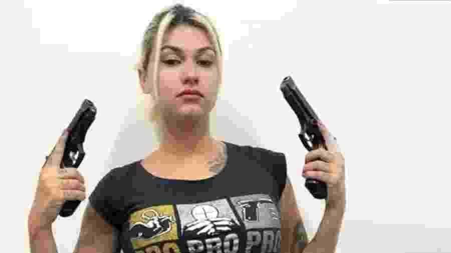 A ativista Sara Winter  - Reprodução