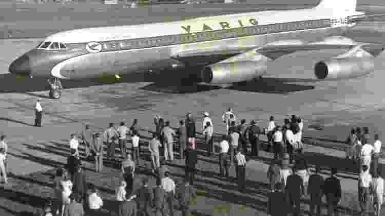 Varig teve três unidades do Convair 990 - Reprodução - Reprodução