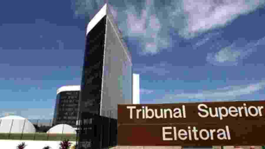 Sede do TSE (Tribunal Superior Eleitoral) em Brasília - Divulgação