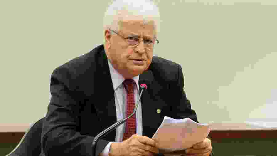 O então deputado federal Nelson Meurer (Progressistas-PR) durante sessão da Comissão Mista de Orçamento em 2013 - Viola Junior/Câmara dos Deputados