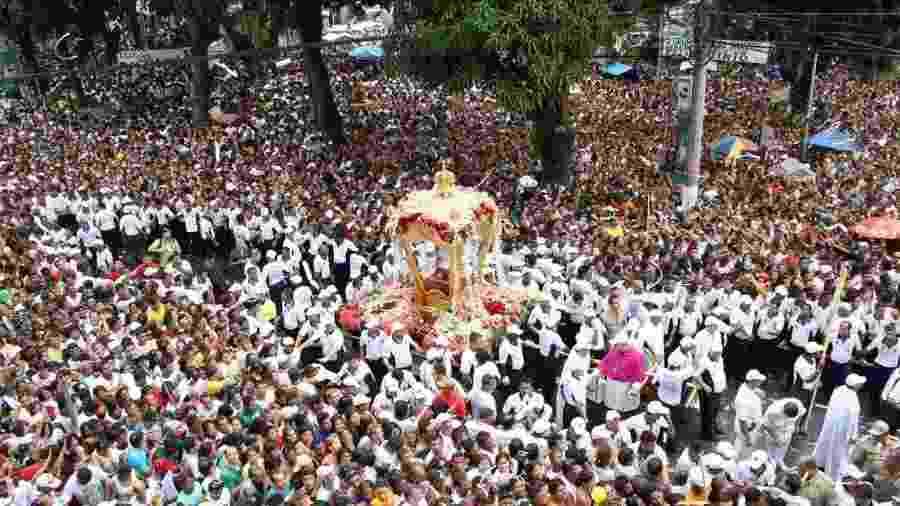 Só no segundo domingo de outubro, a Grande Procissão reúne cerca de 2 milhões de pessoas - Jean Barbosa/Setur/Pará