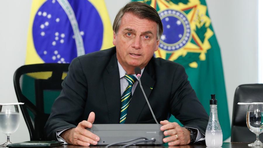 """""""Não tenho como diminuir [impostos] de uma hora para outra"""", disse o presidente - Alan Santos/PR"""