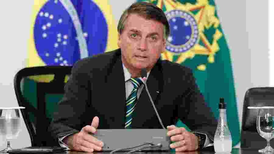O presidente Jair Bolsonaro (sem partido) e o ministro da Economia, Paulo Guedes, têm afirmado que não haverá volta do auxílio - Alan Santos/PR