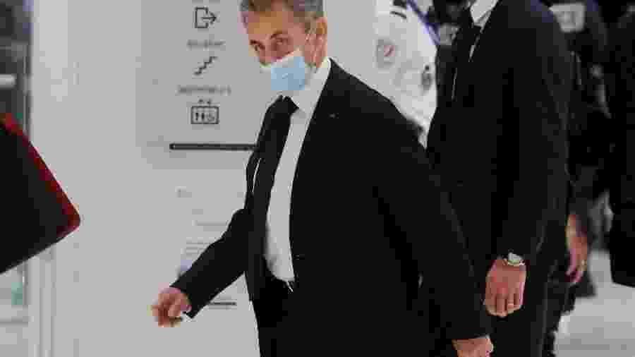 O ex-presidente da França, Nicolas Sarkozy. Ele é acusado de corrupção e tráfico de influência - Charles Platiau/Reuters