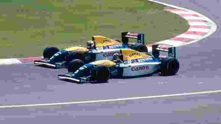 Renault F1 Hill Prost - Divulgação  - Divulgação