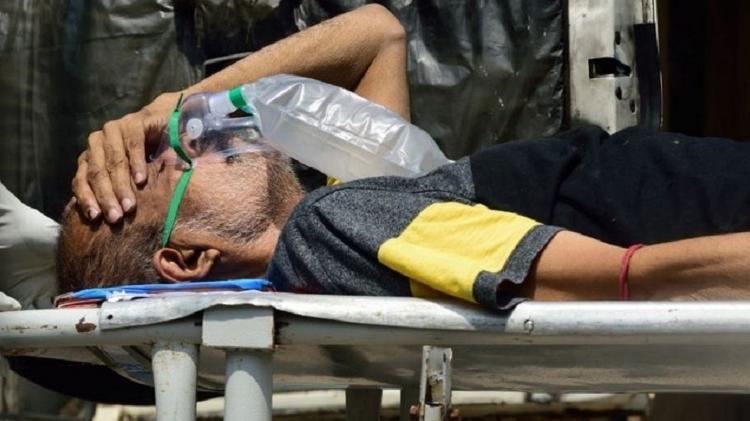 Nas últimas semanas, Índia vive seu pior momento desde que a pandemia começou - Getty Images - Getty Images