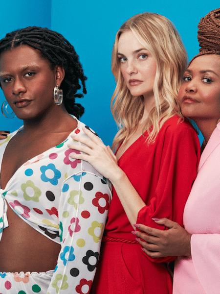 """Campanha de lançamento do """"Mundo Moda"""", do Magazine Luiza - Divulgação"""