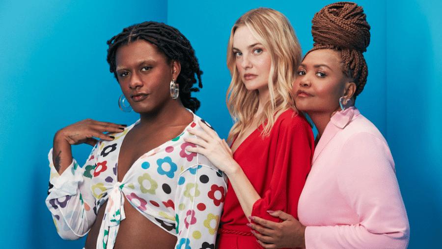 """Liniker, Carol Trentini e Gaby Amarantos estrelam campanha de lançamento do """"Mundo Moda"""" - Divulgação"""