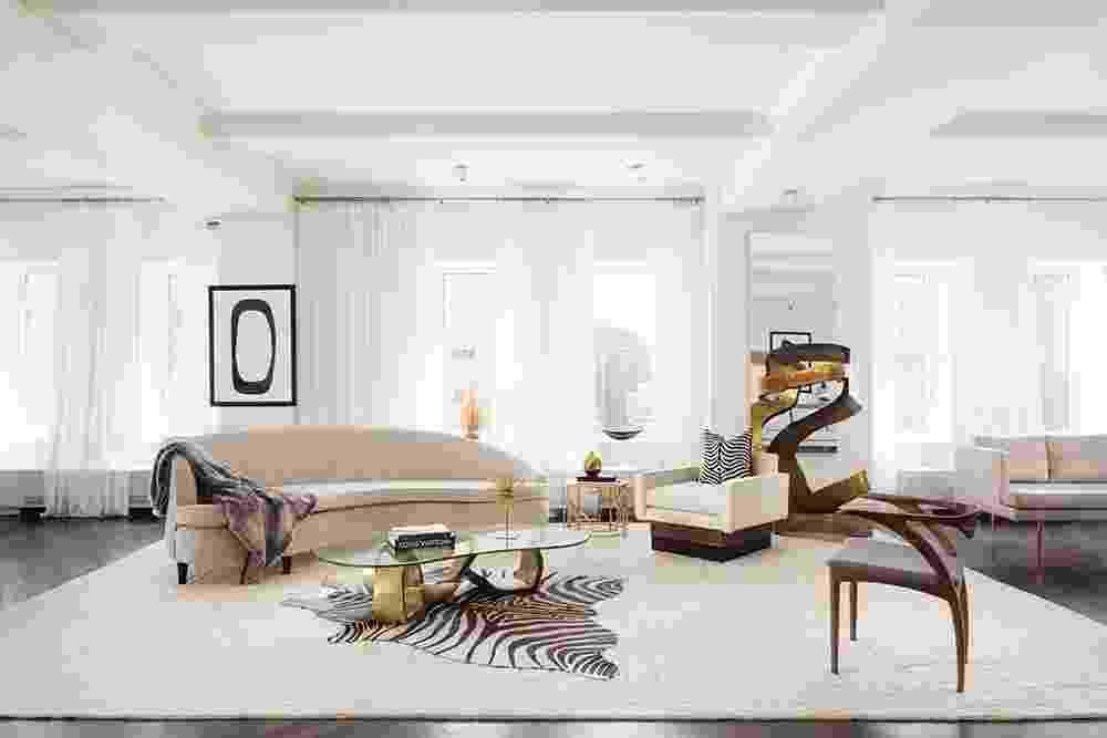 Interior do apartamento de Donald Trump em Nova York, vendido por US$ 21 milhões - Evan Joseph/Divulgação