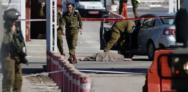 Um palestino foi morto a tiros neste domingo (31) pelas forças de segurança de Israel