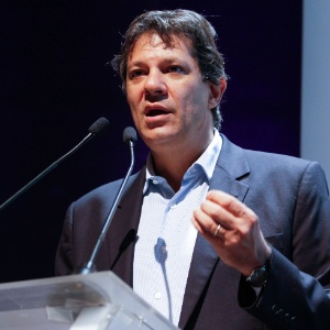 O prefeito de São Paulo, Fernando Haddad