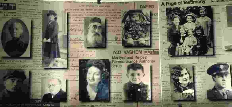 Museu do Holocausto, em Jerusalém, em Israel - BBC/Reprodução