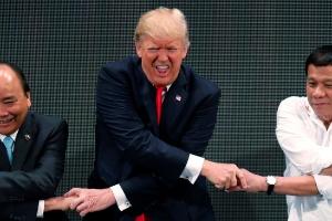 Opinião: Os ditadores adoram Trump e vice-versa (Foto: Jonathan Ernst/ Reuters)