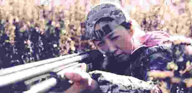 Facebook do Santuário da Unificação tem imagens de jovens segurando armas de fogo - Facebook/Newfoundland Sanctuary Church