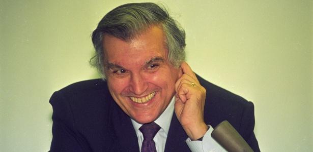 O empresário José Amaro Pinto Ramos em 1995